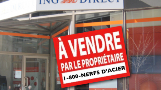 ING direct à vendre