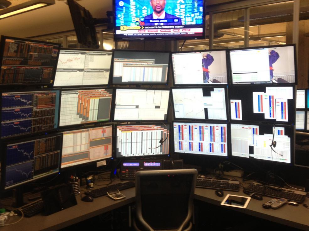 Desk trading