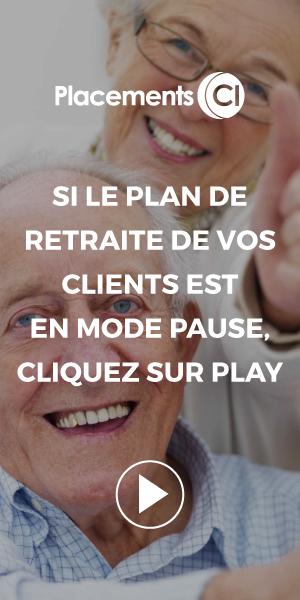 Si le plan de retraite de vos clients est en mode pause, cliquez sur play